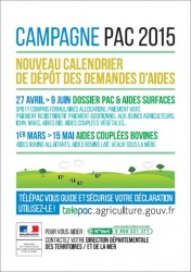 Campagne PAC 2015