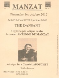 Ligue Contre le Cancer - Thé Dansant